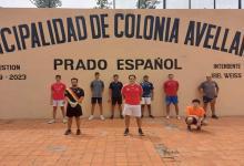 La selección entrerriana de frontball comenzó los entrenamientos en Colonia Avellaneda