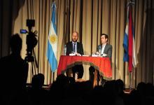En el Instituto Magnasco de Gualeguaychú se dio a conocer el proyecto de la reforma del Código Penal.  (Foto Ricardo Santellán).