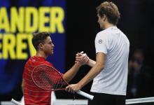 Tenis: Diego Schwartzman sufrió otra derrota entre los Maestros de Londres