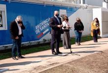 Omar Perotti inaugura hospital modular