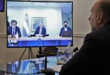 Perotti videoconferencia con Fernández