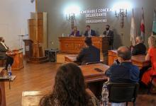 Piaggio inauguró un nuevo período de sesiones ordinarias del Concejo Deliberante de Gualeguaychú, donde el tema de la pandemia por el Covid atravesó todos los ejes de gobierno.