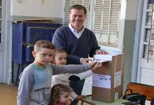 Martín Piaggio votó en Gualeguaychú