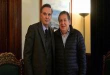 Fotografía de archivo de Miguel Ángel Pichetto y Ramón Puerta.