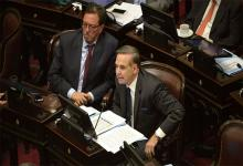Pichetto con Guastavino en el Senado
