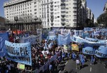 Los movimientos sociales reclamaron la sanción de la ley; las nuevas partidas irán a los comedores.