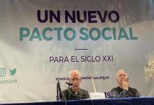 El arzobispo de Buenos Aires y cardenal primado de la Argentina, Mario Poli, cerró la jornada de Pastoral Social.