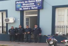 La División de Robos y Hurto de Paraná la integran 40 efectivos policiales.