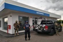 La policía requisó una estación de servicio de San Lorenzo, ubicada en Urquiza 1940, a nombre de Aníbal Porri.
