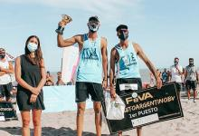 Beach Volley: el entrerriano Julián Azaad festejó en la apertura del Circuito Argentino