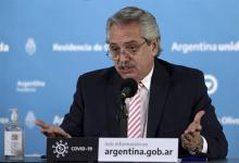El Presidente Alberto Fernández dio positivo de coronavirus el último viernes.