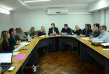 Senadores analizaron con Ballay el régimen de coparticipación para comunas