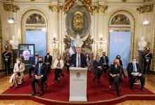 El Presidente Alberto Fernández presentó el 29 de julio en la Casa Rosada la reforma judicial y la comisión de expertos para que le plantearan sugerencias sobre distintas reformas.