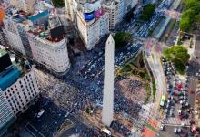 protesta 8N Obelisco
