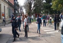 protesta comerciantes Gualeguaychú  (Foto: diario El Argentino)