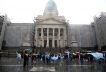 Protesta reforma judicial Congreso