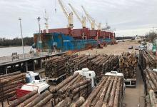 Un informe del gobierno provincial indica que, en solo seis días de trabajo, cada embarque de exportación que se realiza entre los puertos de Concepción del Uruguay e Ibicuy movilizan a más de 1.500 trabajadores entrerrianos de distintos sectores.