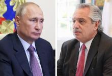 Putin llamó a Fernández tras el resultado de Covid positivo