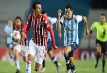 Copa Libertadores: Racing no pudo con San Pablo y hubo reparto de puntos en Avellaneda
