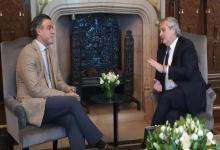Daniel Rafecas junto a Alberto Fernández