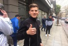 """""""No es la manera de la que me quería ir de San Lorenzo"""", aseguró el entrerriano Reniero"""