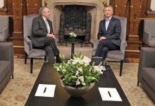 Fue la segunda charla entre Fernández y Macri, después del encuentro cara a cara del lunes 28 pasado.