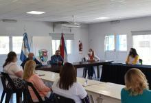 reunión con escuelas por protocolos colaciones