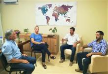 reunión por cursos de formación laboral