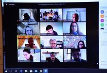 reunión virtual de comisiones Diputados