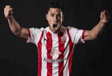 El concordiense Robertone convirtió sus primeros dos goles en España y avanzó con Almería