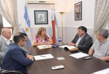 Reunión en la oficina del Ministerio de Gobierno