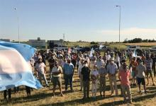 La Federación de Asociaciones Rurales de Entre Ríos participó de la Asamblea de productores realizada en la rotonda de Crespo.