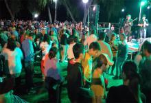 En Santa Elena miles de personas participaron sin barbijo ni cuidados preventivos de una fiesta popular al inaugurarse una etapa de la obra de la Costanera.