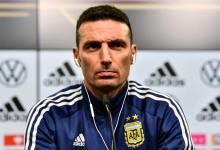 """""""En el segundo tiempo se vio una Argentina bastante más decidida y eficaz"""", afirmó Scaloni"""