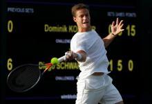 Tenis: Schwartzman alcanzó por primera vez la tercera ronda en Wimbledon