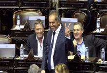 Daniel Scioli, protagonista de la sesión del jueves pasado en Diputados.