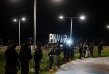 operativo de seguridad en Pinamar