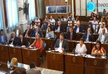 Olano y Dal Molín fueron elegidos vicepresidentes primero y segundo del Senado