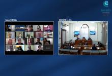 La Cámara de Senadores tuvo su primera sesión virtual
