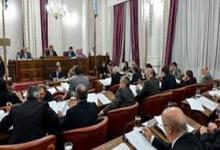Senadores del peronismo expresó su apoyo a la lista de candidatos a legisladores