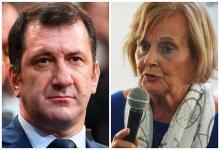 Edgardo Kueider por el oficialismo y Stella Maris Olalla por la oposición, son dos senadores entrerrianos cuyos votos serán decisivos para la ley del IVE.