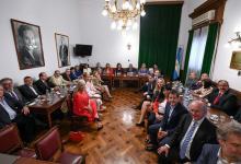 Senadores peronistas