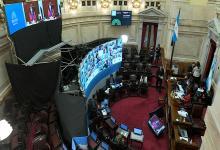 sesión virtual del Senado