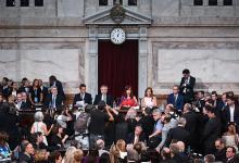 El Presidente dejó inaugurado el ciclo legislativo con un discurso integral sobre la situación del Estado.