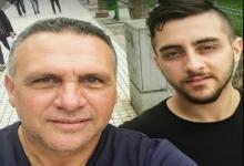 Mauro Federico y su hijo