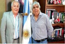 Herme Juárez y Hugo Moyano