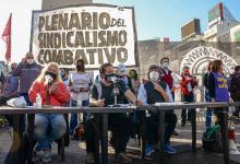 Plenario del Sindicalismo Combativo (Foto: Tiempo Argentino)
