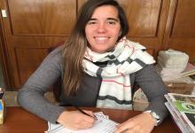 La crespense Sofía Schell firmó su primer contrato como futbolista profesional