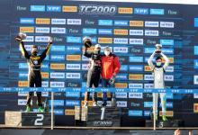 Franco Bosio ganó de principio a fin el Sprint del TC2000 en Paraná