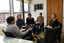 Stratta se reunió con el diputado Arroyo, promotor de la ley de emergencia alimentaria